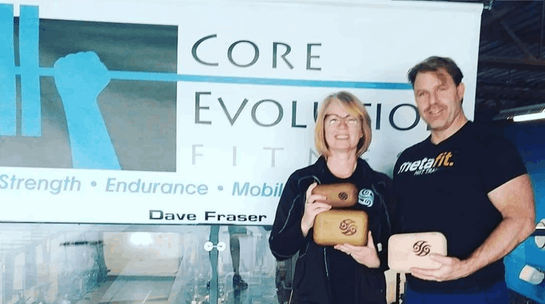Victoria Pain/Block Therapist with Dave Fraser from Core Evolution Fitness