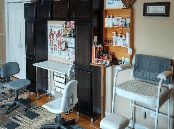 Manicure Pedicure Stations