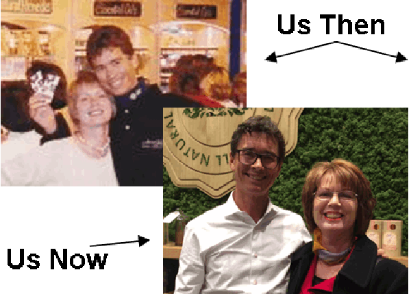Jean Pierre Leblanc & Victoria, Us Then & Now